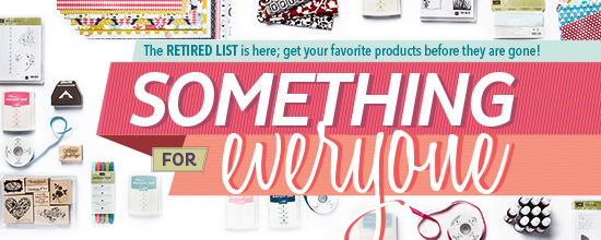Stampin' Up! Retired List of Products
