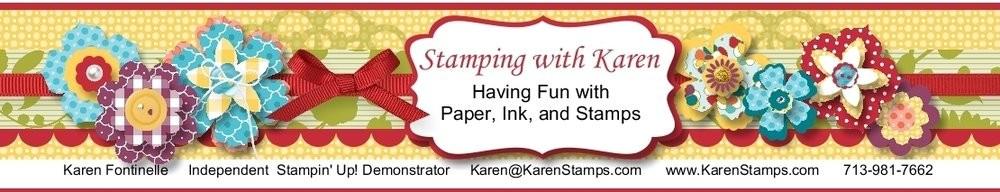 Stamping With Karen