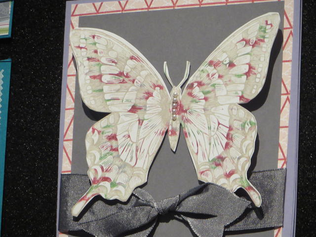 Swallowtail Stamp Set Butterfly Card