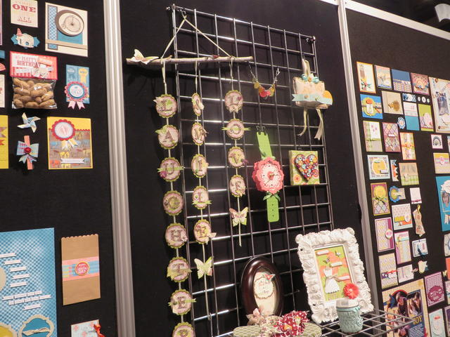 Stampin' Up! Display Boards at Convention