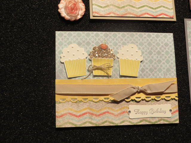 Cupcake Punch Birthday Card