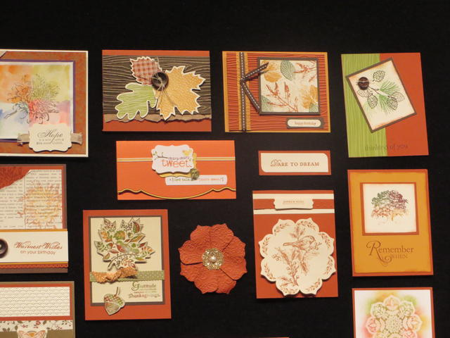 Fall Inspiration Cards