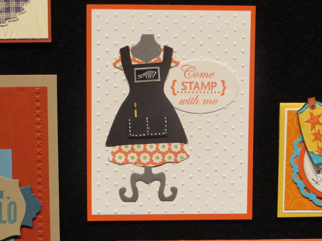 Stampin' Up! Apron Dress Up Framelit Die