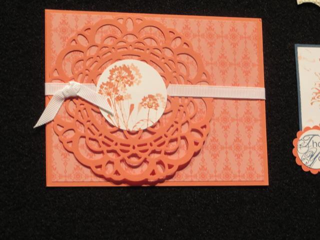 Paper Doily Die Card