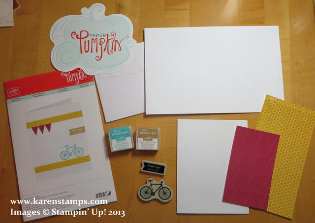August Paper Pumpkin Kit Contents