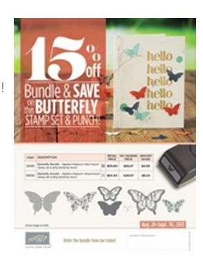 Stampin' Up! Butterfly Bundle