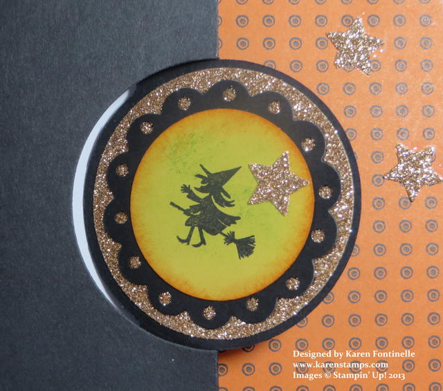 Circle Thinlits Halloween Card
