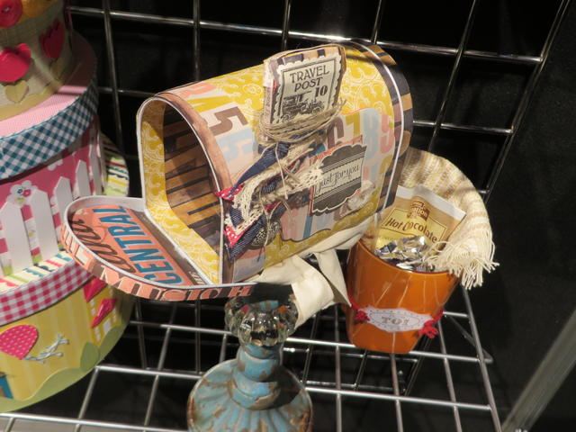Altered Tin Mailbox