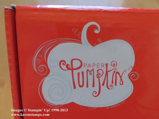 Stampin' Up! Paper Pumpkin Monthly Kit