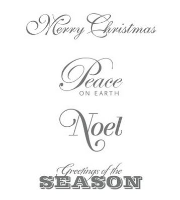 Greetings of the Season Stamp Set