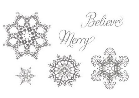 Snowflake Soiree Stamp Set