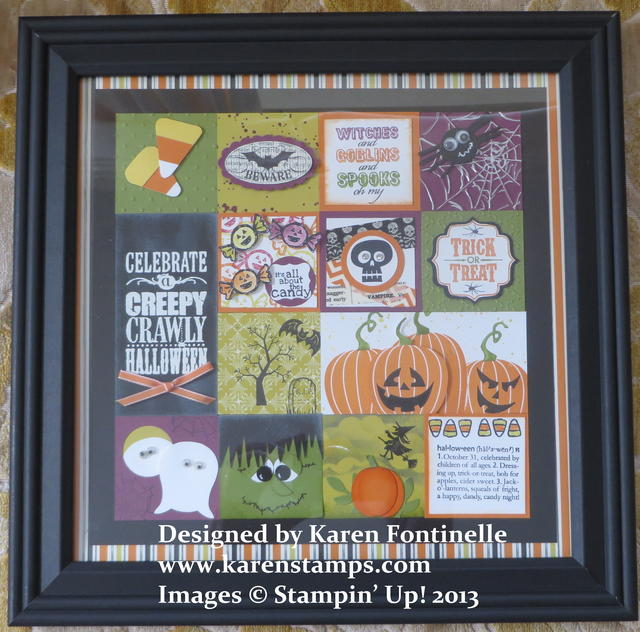 Halloween Framed Art