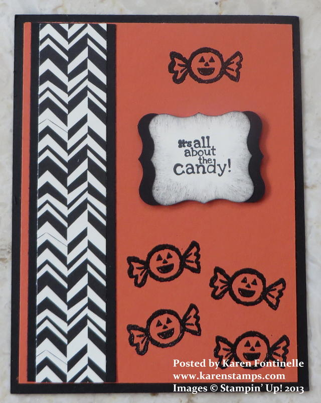 Halloween Hello Candy Card