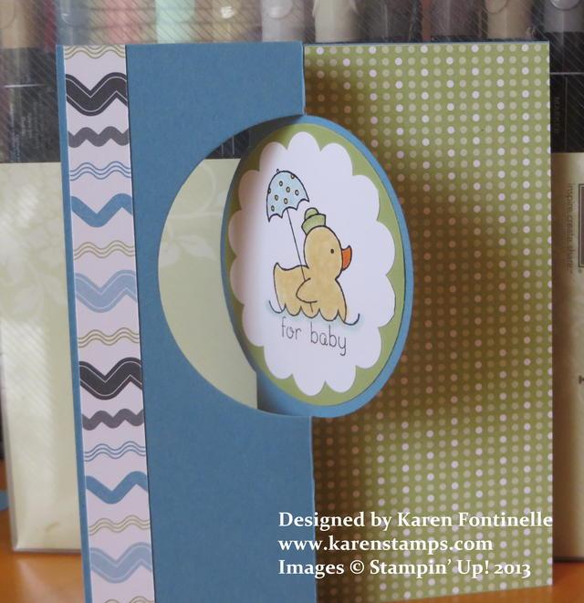 Baby Circle Flip Card