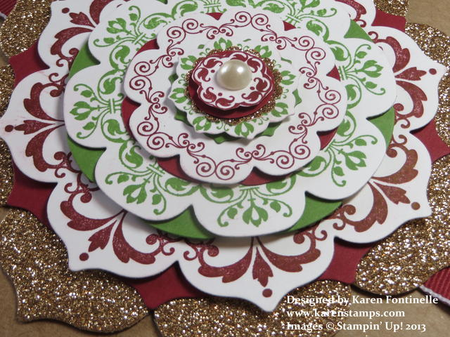 Daydream Medallions Topper