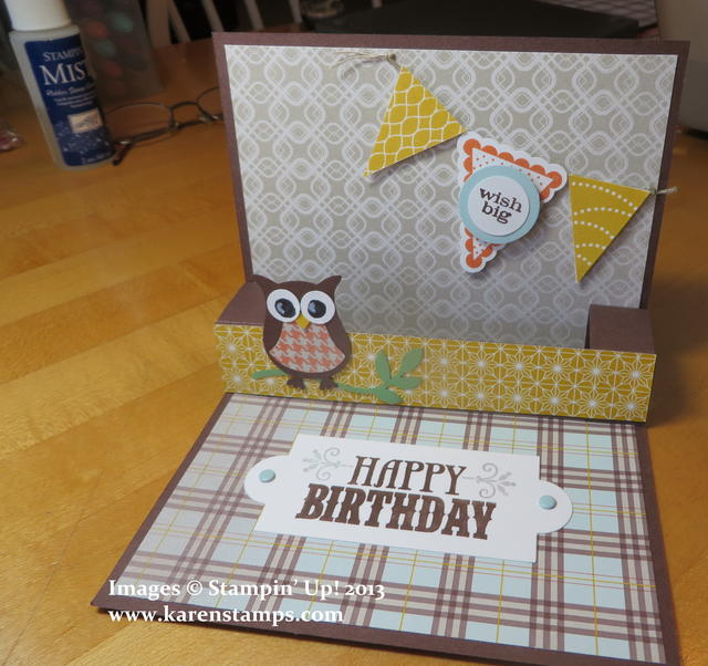 Pop Up Birthday Card Inside