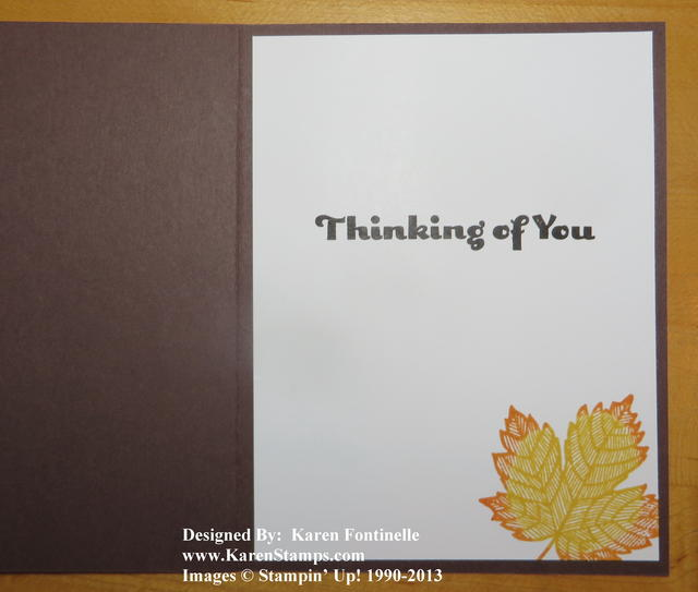 Thanksgiving Card Inside