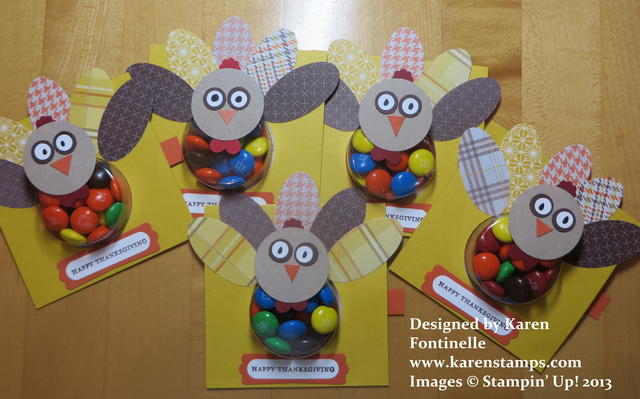 Turkey Favors for Thanksgiving