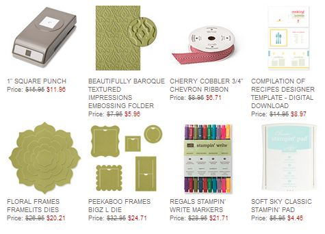 Stampin' Up! Weekly Deal Nov. 26