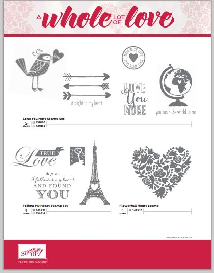 A Whole Lot of Love Stamps