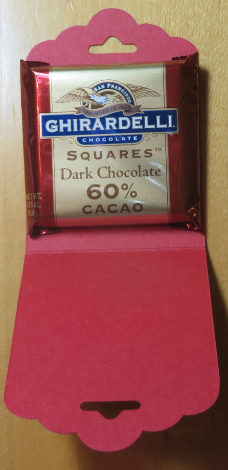 Ghirardelli Chocolate Holder
