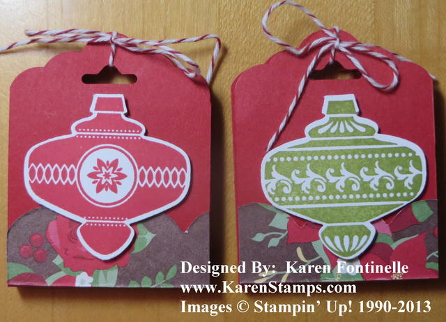Ghirardelli Chocolate Holders Ornaments