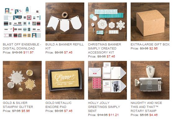 Stampin' Up! Weekly Deal December 17