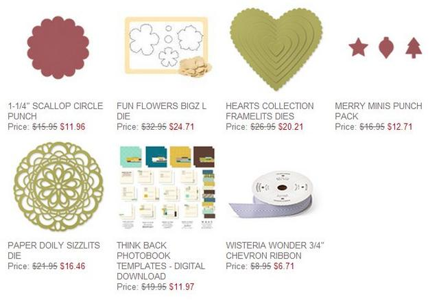 Stampin' Up! Weekly Deal Dec 3