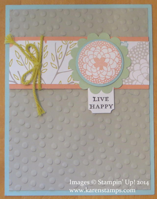 Decorative Dots Sweet Sorbet Card
