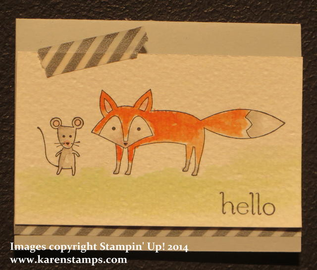 Display Fox Card