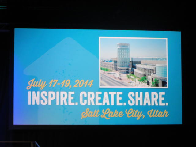 Stampin' Up! Convention 2014 Inspire.Create.Share