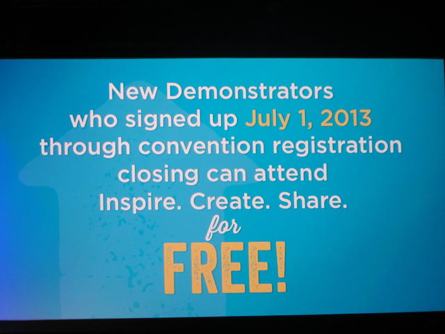 Stampin' Up! Convention 2014 Recruits Free