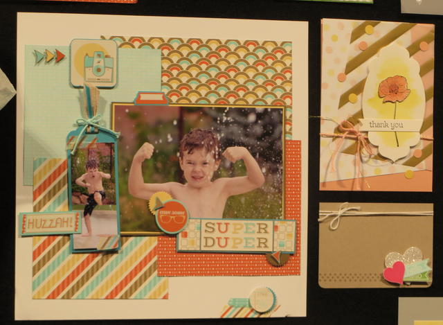Retro Fresh Scrapbook Page Occasions Catalog