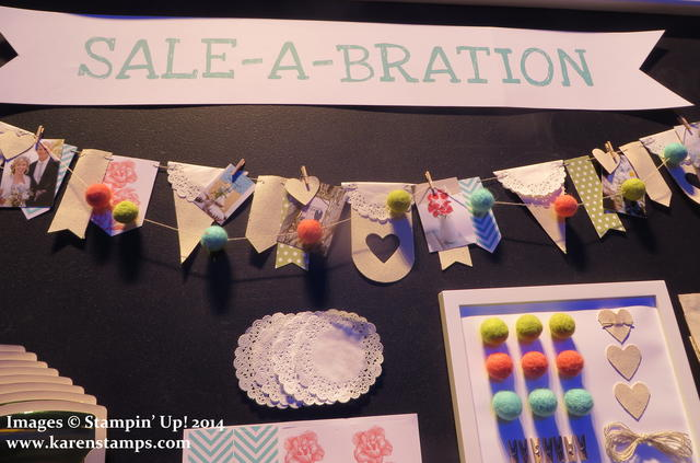 Sale-A-Bration Heartfelt Banner
