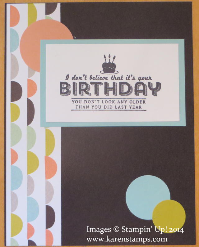 See Ya Later Sweet Sorbet Birthday Card