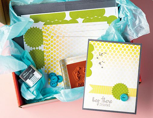 Stampin' Up! Paper Pumpkin Welcome Kit