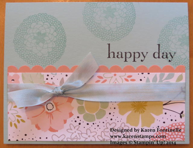 Sweet Sorbet Happy Day Card