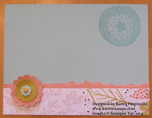 Sweet Sorbet Note Card