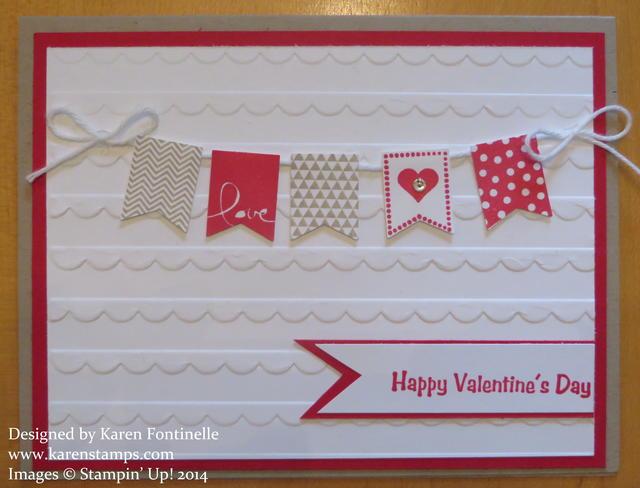 Banner Blast Valentine Card