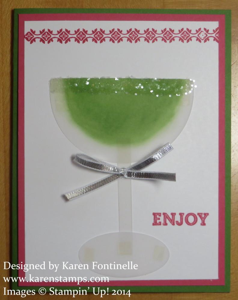 Margarita Card for Cinco de Mayo