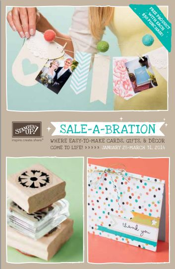 Sale-A-Bration 2014 Brochure