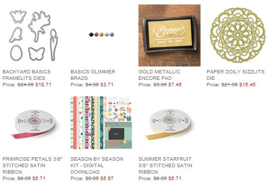 Stampin' Up! Weekly Deal Feb 25 2014