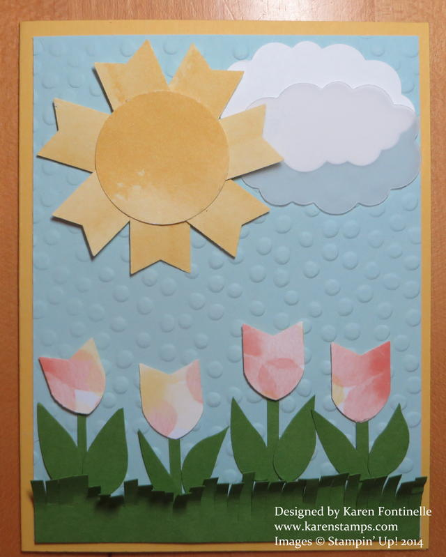 Make Your Own Tulips Card