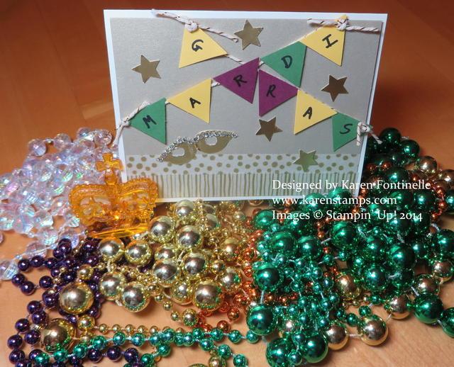 Mardi Gras 2014 Card