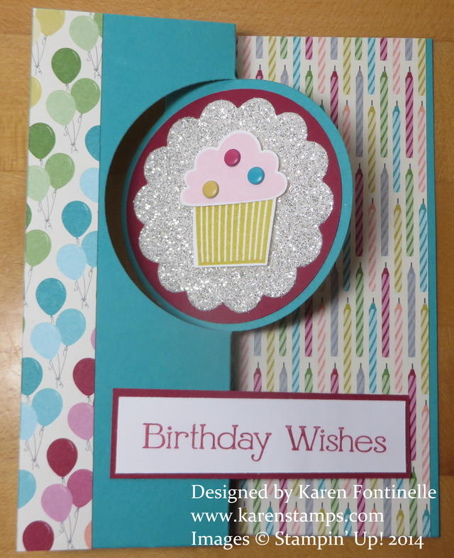 Birthday Thinlits Circle Card