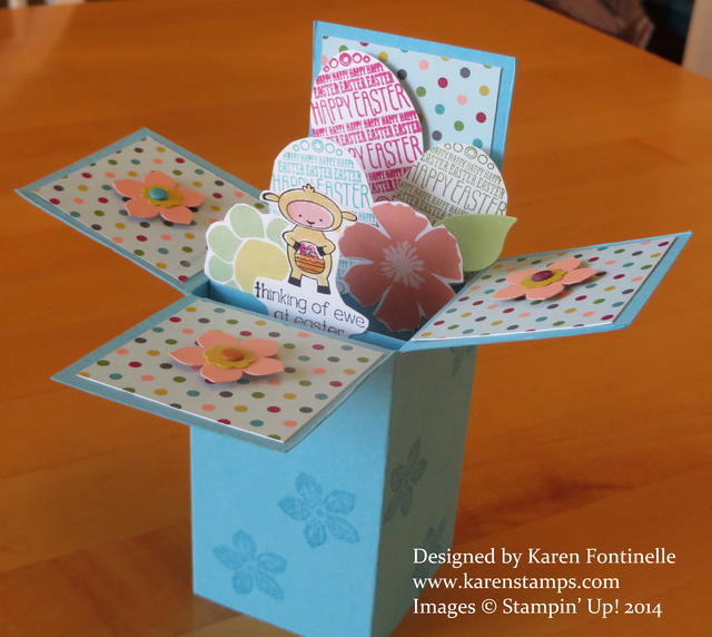 Eggstra Special Easter Pop Up Box Card