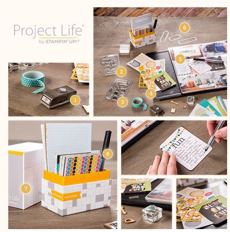 Project Life Stampin' Up! Launch