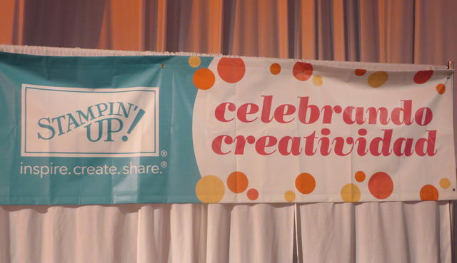 Stampin' Up! Celebrando Creatividad Banner