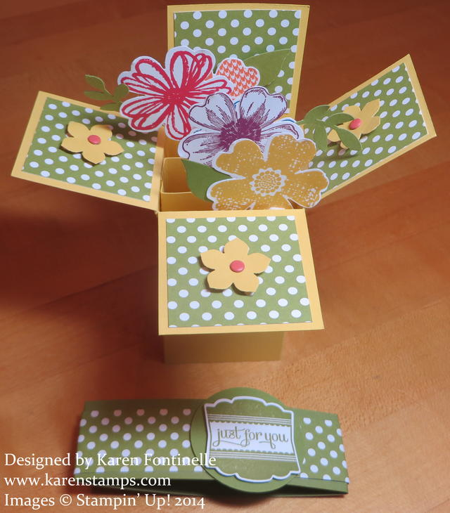 Flower Shop Pop Up Box Card