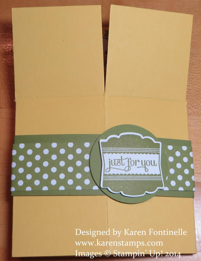 Flower Shop Pop Up Box Card Folded